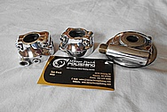 Aluminum Motorcycle Parts AFTER Chrome-Like Metal Polishing - Aluminum Polishing Services