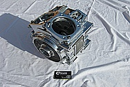 2007 Harley Davidson FLHTCUSE Screamin' Eagle Aluminum Engine Case AFTER Chrome-Like Metal Polishing and Buffing Services