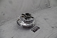 Honda Motorcycle Wheel Brake Hub AFTER Chrome-Like Metal Polishing and Buffing Services / Restoration Services - Aluminum Polishing Services