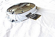 Yamaha Aluminum Motorcycle Engine Cover AFTER Chrome-Like Metal Polishing and Buffing Services