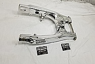 2019 Yamaha KTM 85 Motorcycle Aluminum Swingarm AFTER Chrome-Like Metal Polishing and Buffing Services / Restoration Services - Motorcycle Aluminum Polishing