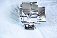 Harley Davidson Evolution Aluminum Motorcycle Engine Heads AFTER Chrome-Like Metal Polishing and Buffing Services