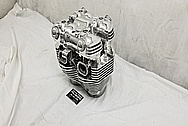 Aluminum Motorcycle Parts AFTER Chrome-Like Metal Polishing and Buffing Services / Restoration Services - Aluminum Polishing