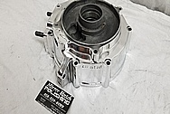 Aluminum Motorcycle Engine Cover Pieces AFTER Chrome-Like Metal Polishing - Stainless Steel Polishing