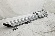 Motorcycle Exhaust AFTER Chrome-Like Metal Polishing and Buffing Services - Steel Polishing Services