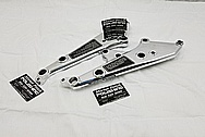 Aluminum Motorcycle Brackets AFTER Chrome-Like Metal Polishing and Buffing Services - Aluminum Polishing Services