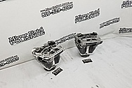 S&S Aluminum Motorcycle Cylinder Heads AFTER Chrome-Like Metal Polishing and Buffing Services / Restoration Services
