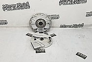 Motorcycle Aluminum Hub Pieces AFTER Chrome-Like Metal Polishing - Aluminum Polishing Services