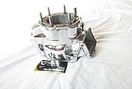 Honda ATV 4-Wheeler Aluminum Engine Case AFTER Chrome-Like Metal Polishing and Buffing Services