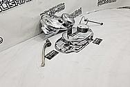 Yamaha Aluminum Motorcycle Parts AFTER Chrome-Like Metal Polishing and Buffing Services - Aluminum Polishing