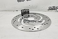 Stainless Steel Harley Davidson Brake Rotor AFTER Chrome-Like Metal Polishing and Buffing Services - Stainless Steel Polishing