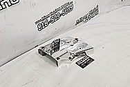 Motorcycle Aluminum Engine Cover Piece AFTER Chrome-Like Polishing and Buffing - Aluminum Polishing