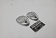 Lambretta Scooter Aluminum Cover Pieces AFTER Chrome-Like Metal Polishing - Aluminum Polishing