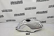 Aluminum Motorcylce Gas Tank AFTER Chrome-Like Metal Polishing - Aluminum Polishing