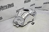 Lambretta Scooter Aluminum Cover Pieces AFTER Chrome-Like Metal Polishing - Aluminum Polishing