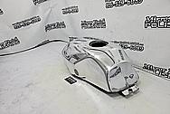 Harley Davidson Aluminum Inner Primary Cover Piece BEFORE Chrome-Like Metal Polishing - Aluminum Polishing