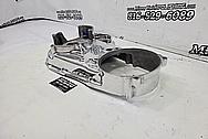 Harley Davidson Steel Brake Rotor AFTER Chrome-Like Metal Polishing - Steel Polishing