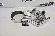 Motorcycle Aluminum Intercooler BEFORE Chrome-Like Metal Polishing - Aluminum Polishing