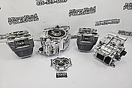 Harley Davidson Aluminum Engine Parts AFTER Chrome-Like Metal Polishing and Buffing Services / Restoration Services - Aluminum Polishing