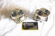 Aluminum Motorcycle Engine Blocks AFTER Chrome-Like Metal Polishing and Buffing Services