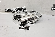 Motorcycle Engine Cover Piece AFTER Chrome-Like Metal Polishing and Buffing Services / Restoration Services - Aluminum Polishing