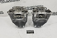 Harley Davidson Motorcycle Cylinders and Heads AFTER Chrome-Like Metal Polishing and Buffing Services / Restoration Services - Aluminum Polishing - Motorcycle Polishing