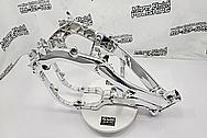 2019 Honda CRF450R Aluminum Motorcycle Frame AFTER Chrome-Like Metal Polishing and Buffing Services / Restoration Services - Aluminum Polishing - Motorcycle Polishing