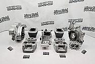 Harley Davidson Engine Parts AFTER Chrome-Like Metal PREP FOR PAINT SERVICE - Aluminum Polishing - Motorcycle Parts Polishing