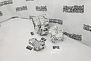 S&S Aluminum Engine Block Project AFTER Chrome-Like Metal Polishing - Aluminum Polishing - Motorcycle Parts Polishing - Engine Polishing