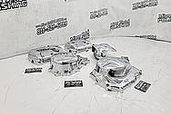 Aluminum Motorcycle Covers AFTER Chrome-Like Metal Polishing - Aluminum Polishing - Motorcycle Parts Polishing - Wheel Polishing