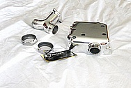 Aluminum Motorcycle Engine Parts AFTER Chrome-Like Metal Polishing and Buffing Services / Restoration Services