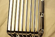 BMW Motorcycle Aluminum Cover Pieces AFTER Chrome-Like Metal Polishing and Buffing Services
