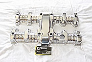 1982 Honda CB750SC Aluminum Motorcycle Valve Cover AFTER Chrome-Like Metal Polishing and Buffing Services / Restoration Services