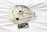 1982 Honda CB750SC Aluminum Motorcycle Brake Hub AFTER Chrome-Like Metal Polishing and Buffing Services / Restoration Services