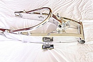 Motorcycle Aluminum Swingarm AFTER Chrome-Like Metal Polishing and Buffing Services / Resoration Services