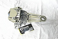 Motorcycle Aluminum Brake Caliper AFTER Chrome-Like Metal Polishing and Buffing Services / Resoration Services