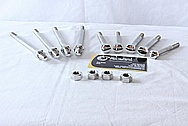 Triumph Motorcycle Steel Hardware AFTER Chrome-Like Metal Polishing and Buffing Services