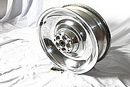 Aluminum Solid Motorcycle Wheels AFTER Chrome-Like Metal Polishing and Buffing Services / Restoration Services
