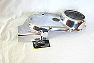 Yamaha XS650 Aluminum Motorcycle Engine Cover Pieces AFTER Chrome-Like Metal Polishing and Buffing Services / Restoration Services