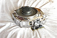 1976 Harley Davidson Shovelhead Aluminum Motorcycle Engine Case AFTER Chrome-Like Metal Polishing and Buffing Services / Restoration Services