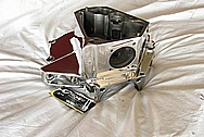 1976 Harley Davidson Shovelhead Aluminum Engine Case AFTER Chrome-Like Metal Polishing and Buffing Services / Restoration Services