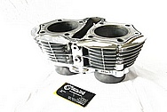 Yamaha Aluminum Cylinder AFTER Chrome-Like Metal Polishing and Buffing Services / Restoration Services