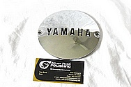 Yamaha Aluminum Motorcycle Engine Cover AFTER Chrome-Like Metal Polishing and Buffing Services / Restoration Services