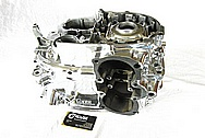 Yamaha Aluminum Engine Block AFTER Chrome-Like Metal Polishing and Buffing Services / Restoration Services