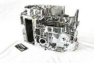 Yamaha Aluminum Engine Block AFTER Chrome-Like Metal Polishing and Buffing Services / Restoration Services