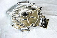 1942 Harley Davidson WLA Aluminum Engine Piece AFTER Chrome-Like Metal Polishing and Buffing Services / Restoration Services