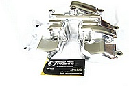 Harley Davidson Aluminum Motorcycle Parts AFTER Chrome-Like Metal Polishing and Buffing Services / Restoration Services