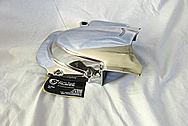 Aluminum Motorcycle Sprocket Cover AFTER Chrome-Like Metal Polishing and Buffing Services / Restoration Services