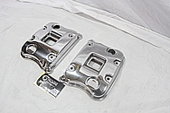 Buell XP Aluminum Motorcycle Engine Cover Pieces AFTER Chrome-Like Metal Polishing and Buffing Services / Restoration Services