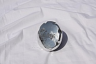 Yamaha Victory Motorcycle Aluminum Gas Cap AFTER Chrome-Like Metal Polishing and Buffing Services